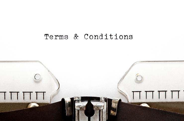 5 tips for effective terms and conditions