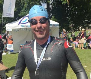 GALLERY: CEO's swims raise over £6,000 for two great charities