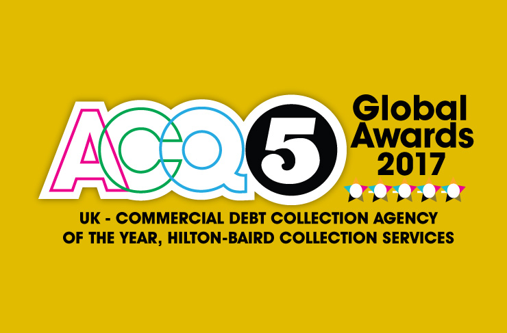 Debt Collection Agency >> Hilton Baird Collection Services Rewarded For Outstanding