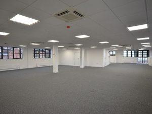 Woollen Hall: Ground floor now