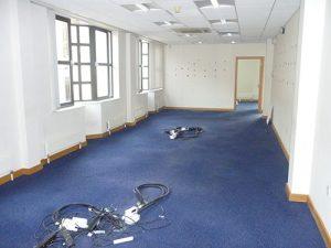 Woollen Hall - First floor before