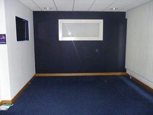 Woollen Hall: Ground floor before