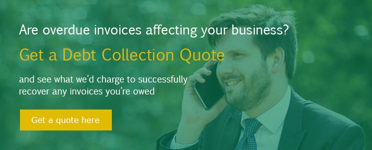 Get a debt collection quote