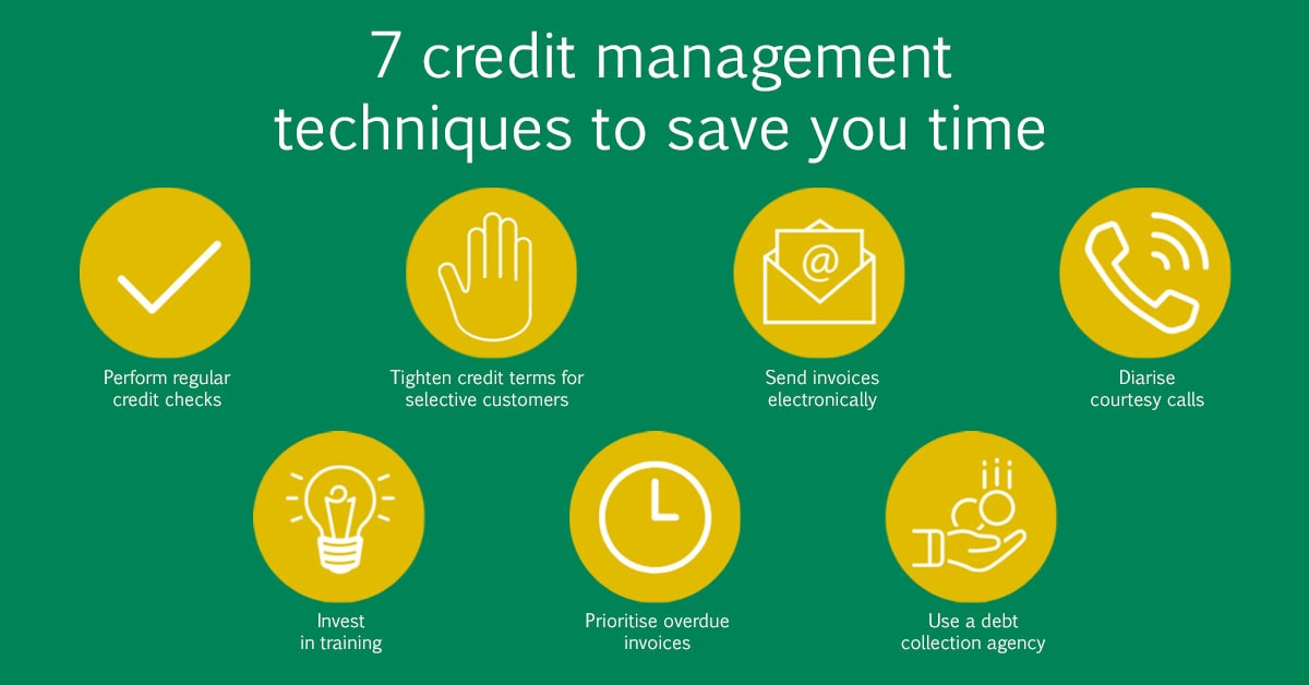 7 credit management techniques to save you time